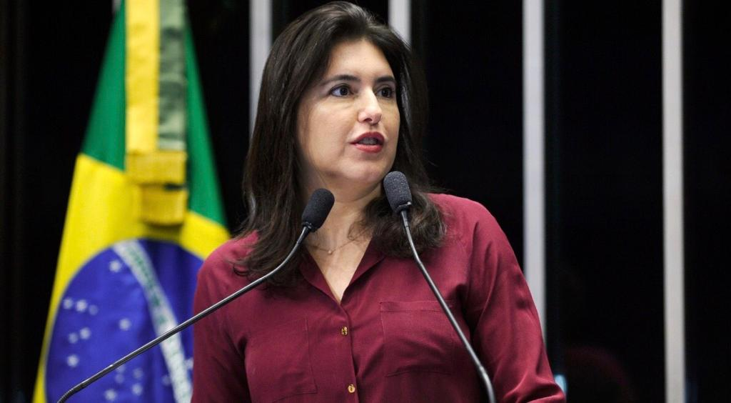 Senadora Simone Tebet no Jornal da Manhã da Rádio Jovem Pan CG